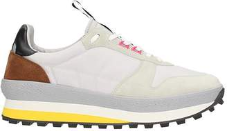 Givenchy Tr3 Runner Grey Fabric Synthetic Sneakers