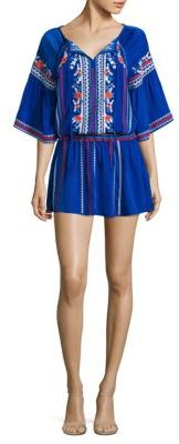 Parker Giselle Embroidered Dress $398 thestylecure.com