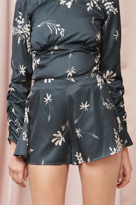 Finders Keepers AFTERGLOW SHORT forest floral
