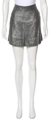 Rivamonti Metallic Mini Skirt