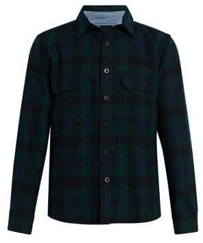 Woolrich Buffalo Check Button-Down Shirt