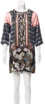 Emma Cook Silk Mini Dress