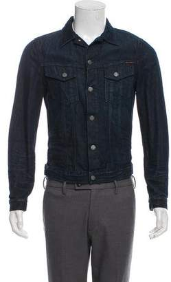 Nudie Jeans Dark Wash Denim Jacket