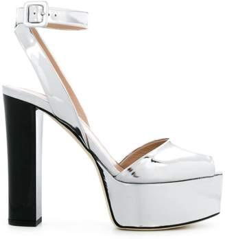 Giuseppe Zanotti Design metallic platform sandals