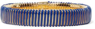 Chloé Gold-tone Resin Bracelet - Blue