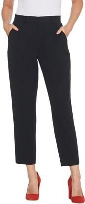 Brooke Shields Timeless BROOKE SHIELDS Timeless Petite Woven Ankle Pants