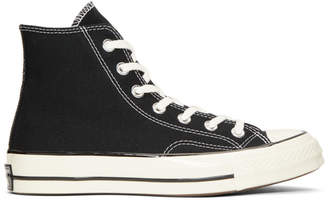 Converse Black Chuck Taylor Vintage 70 High-Top Sneakers