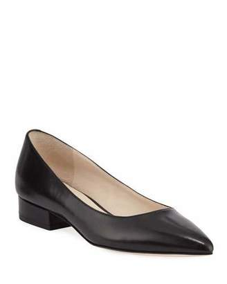 Cole Haan Vesta Grand Leather Skimmer Flats, Black