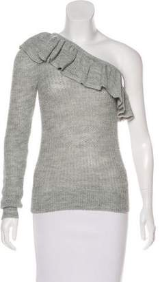 Rebecca Taylor Alpaca-Blend One-Shoulder Sweater w/ Tags