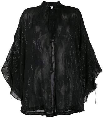 IRO transparent blouse
