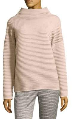 Peserico Mockneck Merino Wool Sweater