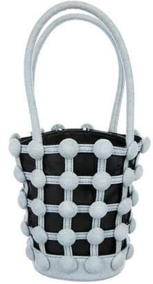 Alexander Wang Denim Roxy Mini Bucket Bag