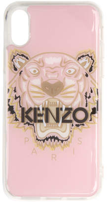 4221ba92 Kenzo Pink and Brown Tiger iPhone X/XS Case