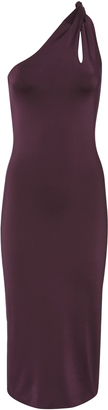 Cushnie et Ochs Gloss Jersey Twist Strap Dress $1,495 thestylecure.com