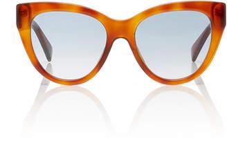Gucci Tortoiseshell Acetate Cat-Eye Sunglasses