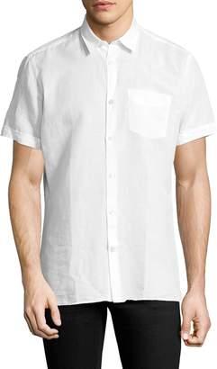 J. Lindeberg Men's Ward Short Sleeve Sportshirt