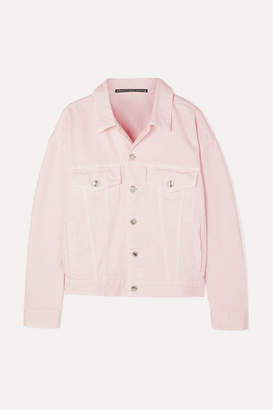Alexander Wang Game Denim Jacket - Pink