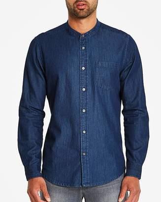 Jacamo Grandad Denim Shirt Long