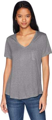 Tresics Junior's V-Neck Boyfriend Pocket Tee