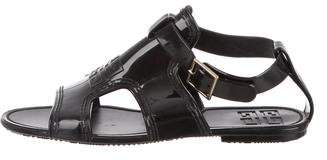 Givenchy Cutout Ankle Strap Sandals