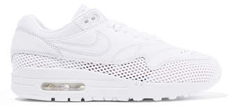 Nike Air Max 1 Si Leather And Mesh Sneakers - White