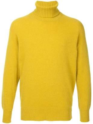 Maison Flaneur fine knit turtleneck sweater