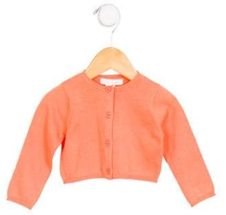 Marie Chantal Girls' Long Sleeve Button-Up Cardigan
