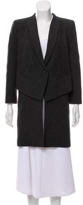 Givenchy Structured Wool Coat