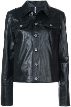 Helmut Lang detail jacket