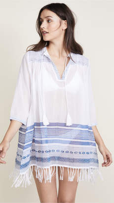 Roller Rabbit Hamsa Border Serafina Tunic