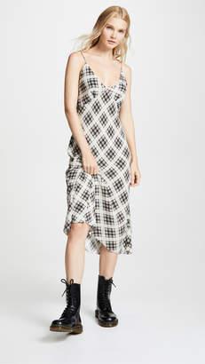 Marc Jacobs Redux Grunge Bias Plaid Knee Length Dress