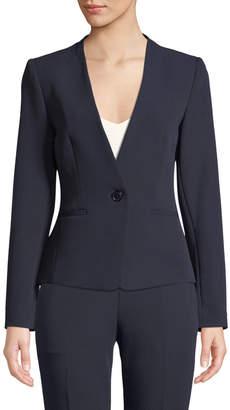 Tahari ASL Hilda Tie-Back Blazer Jacket