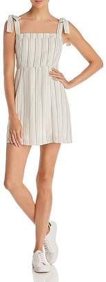 Sage the Label Mediterranean Striped Mini Dress