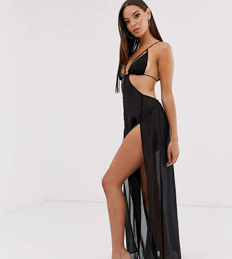 Candypants Candy Pants maxi beach dress in black