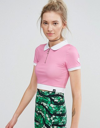 Illustrated People Polo T-Shirt $35 thestylecure.com