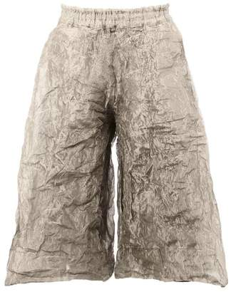 Toogood stainless steel The Boxer Long Clay trousers