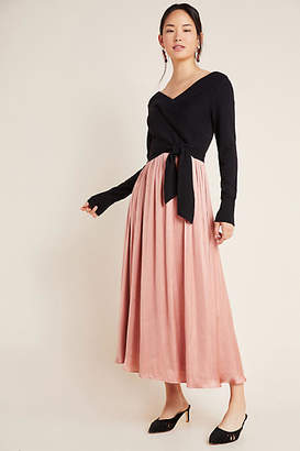 Anthropologie Justine Sweater and Maxi Dress Set