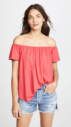 Susana Monaco Larina Off the Shoulder Top