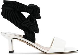 Paul Andrew lace-up detail sandals