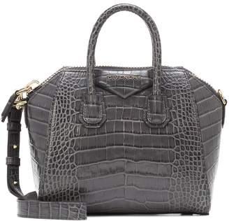 Givenchy Antigona Mini croc-effect leather tote