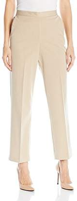 Alfred Dunner Women's Plus Size Short Length Pant