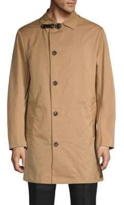 Valentino Spread Collar Long Coat