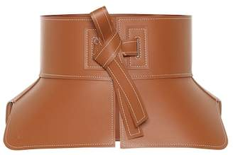 Loewe Leather corset belt
