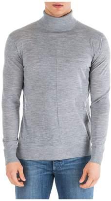 Emporio Armani Polo Neck Turtleneck Jumper Sweater Regular Fit