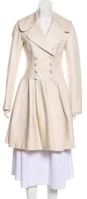 Alaia Knee-Length Flare Coat