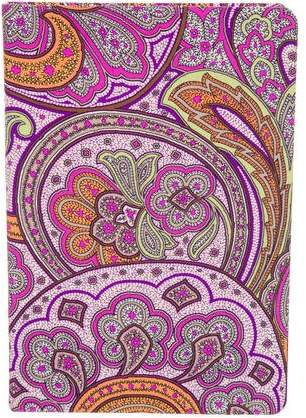 Etro Home Paisley Notebook
