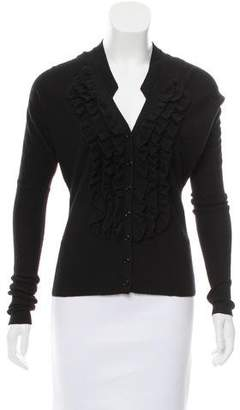 Givenchy Button-Up Wool Cardigan