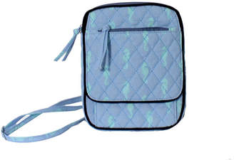 Waverly Seahorse North South Crossbody Bag