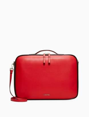 Calvin Klein pebble laptop bag