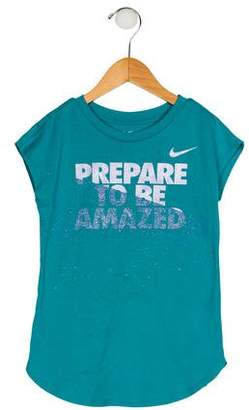 Nike Girls' Graphic Top